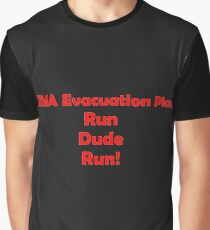 FEMA Evacuation Plan Graphic T-Shirt