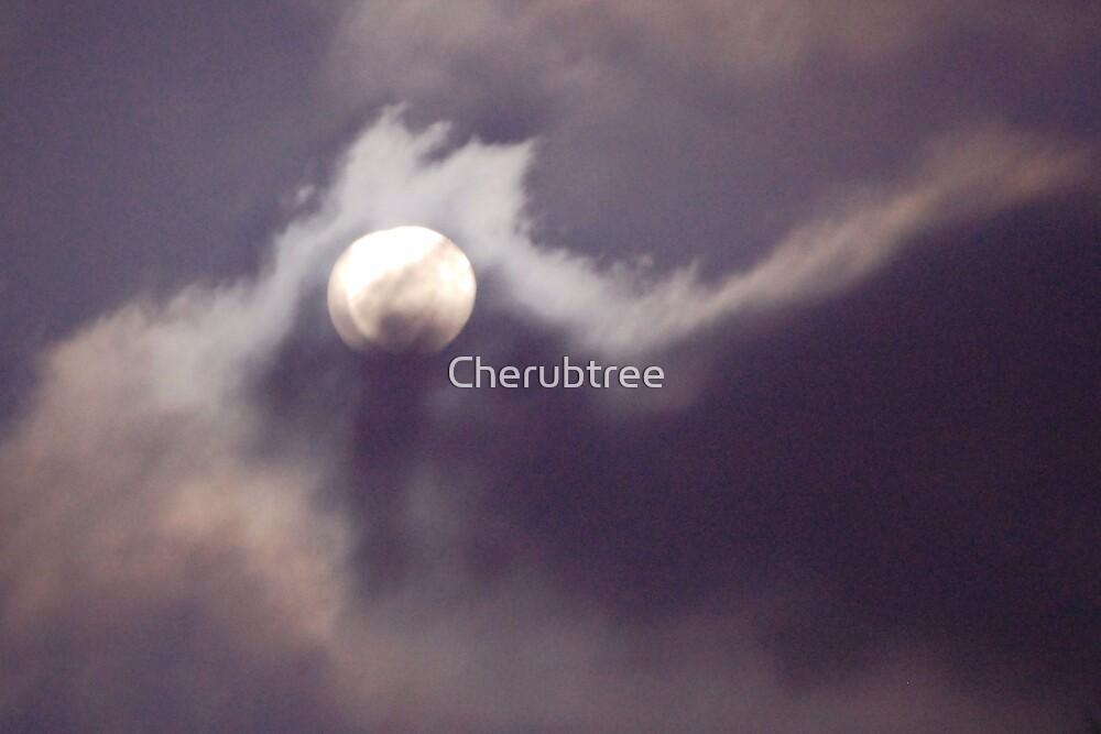 Full Moon: 10/04/09 by Cherubtree