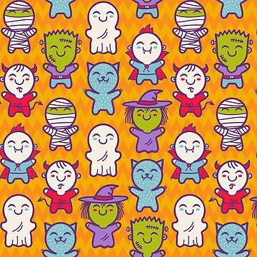 Halloween pattern by SIR13