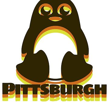 Pittsburgh Pens Cute by underscorepound