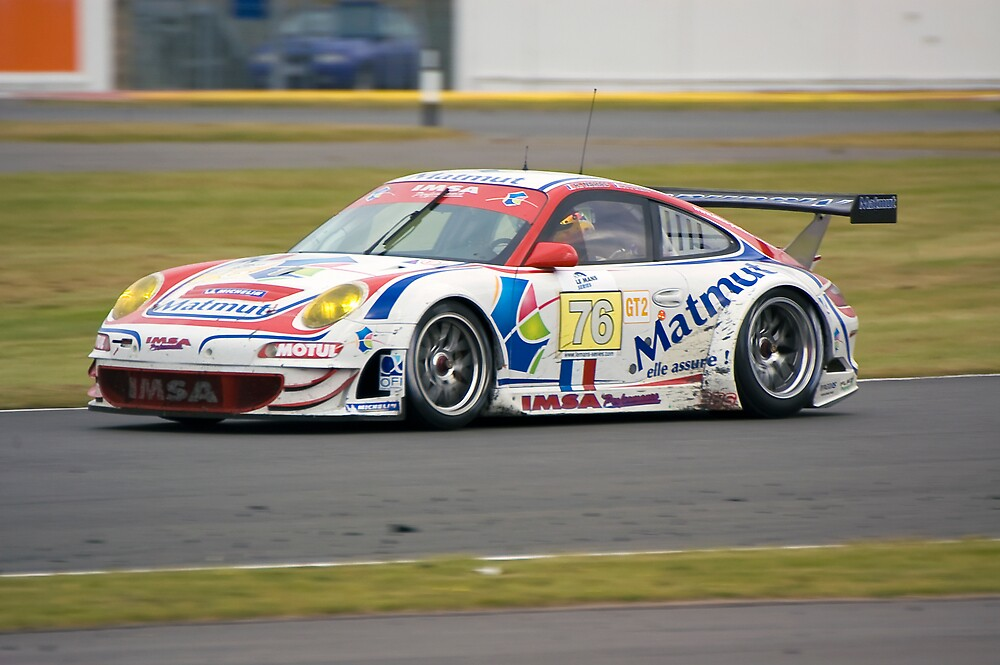 Porsche 997 GT3 RSR by Willie Jackson