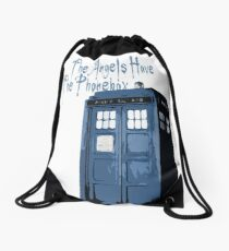 The Angels Have The Phonebox Drawstring Bag