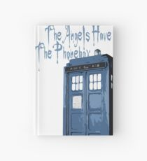 The Angels Have The Phonebox Hardcover Journal