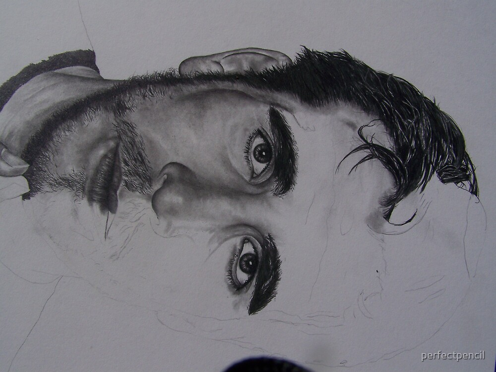 IN PROGRESS Kenny Florian MMA LEGEND WARRIOR /SPIRITUAL STYLE  by perfectpencil