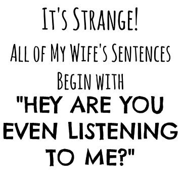 Gift For Husband Funny Wife Joke Design by mrkprints