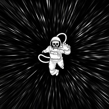 Mustached dead spaceman by dima-v