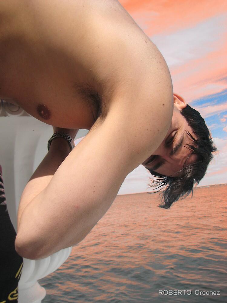 down boy by Robert Ordonez