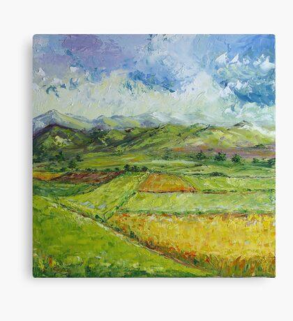 Alpine Landscape Canvas Print