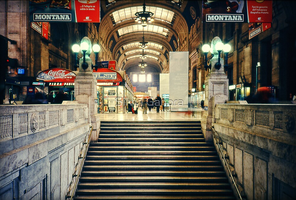 Milan central station by Silvia Ganora