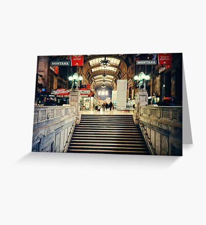 Milan central station Greeting Card