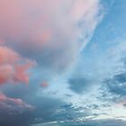 Pink clouds and blue skies at sunset 0167 by simonbratt