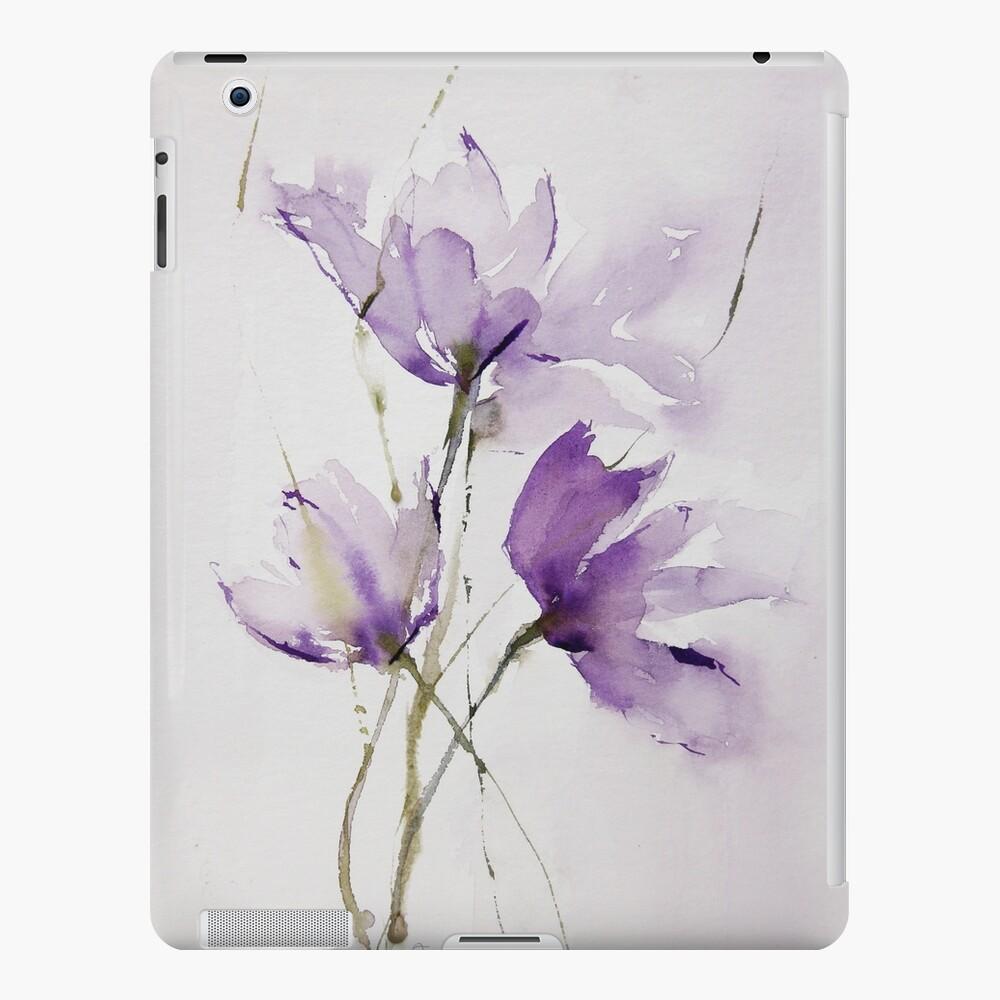 wilted tulips Funda y vinilo para iPad