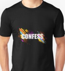 Awesome & Great Confess Tshirt Confess Unisex T-Shirt