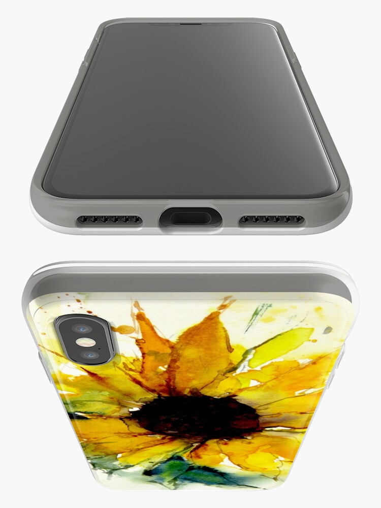 Alternate view of sunflower iPhone Cases & Covers