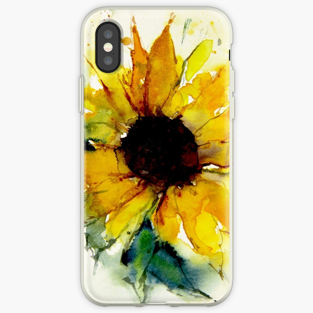 Sonnenblume iPhone-Hülle & Cover