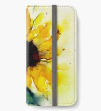 sunflower iPhone Wallet/Case/Skin
