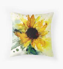 Sonnenblume Dekokissen