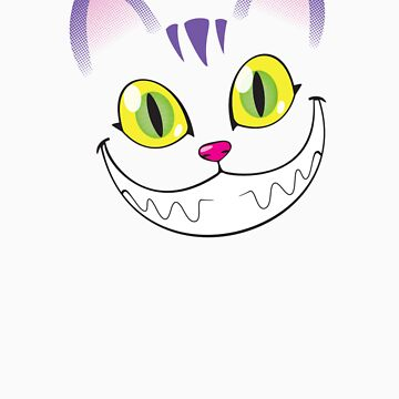 Cheshire cat face by artistaperezoso