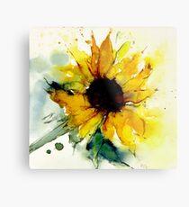 Sonnenblume Metalldruck