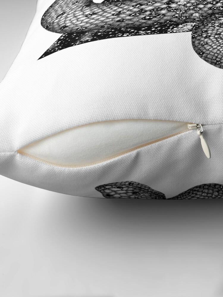 Alternate view of Cosmic Snake Floor Pillow