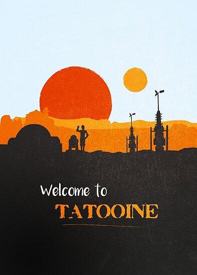 Willkommen auf Tatooine von mctees