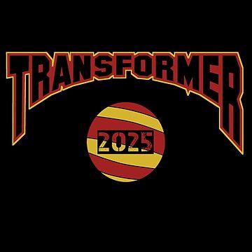 Transformer Name Logo Slogan Black and Red by Linkbekka