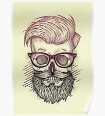 Hipster is Dead Poster
