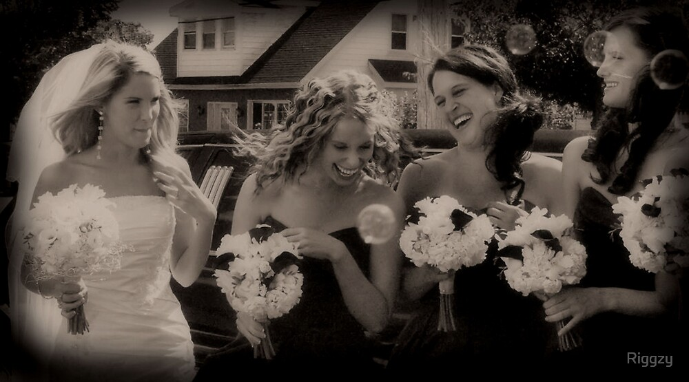 Bubbling Bridesmaids by Riggzy