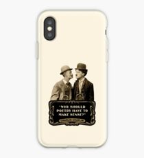 """Charlie Chaplin Quotes - """"Why Should Poetry Have To Make Sense?"""" iPhone Case"""
