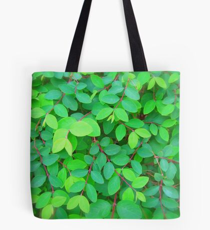 EVE'S GREEN LEAVES - PENCIL SKIRT Tote Bag