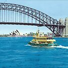 Crossing the Harbour by Freda Surgenor