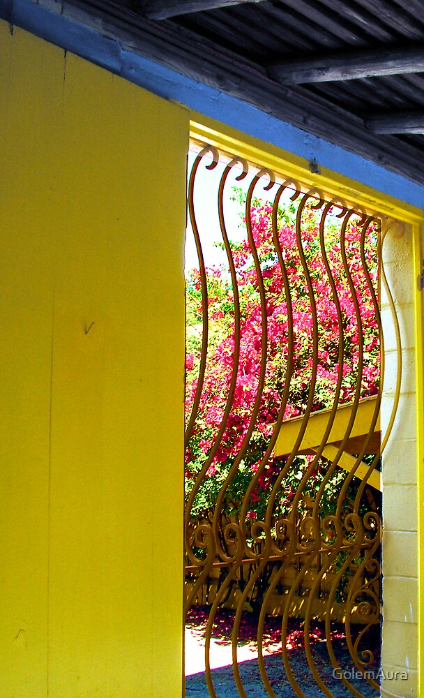 Wave Window in the Courtyard by GolemAura