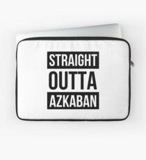 Straight outta Azkaban Laptop Sleeve
