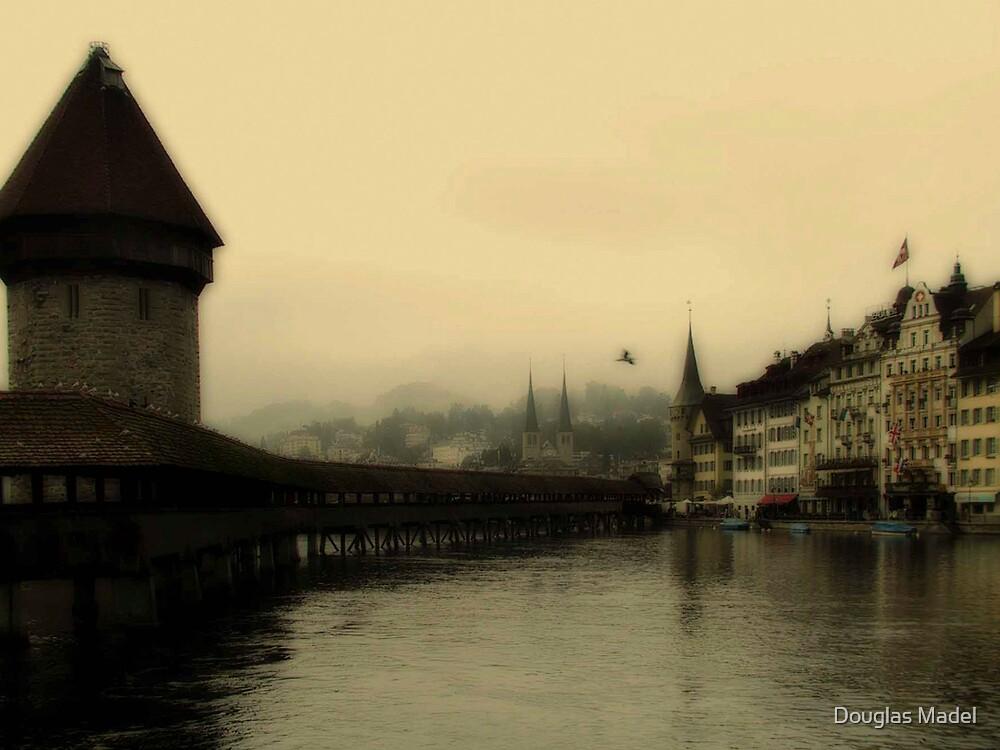 Luzern Bridge by Douglas Madel