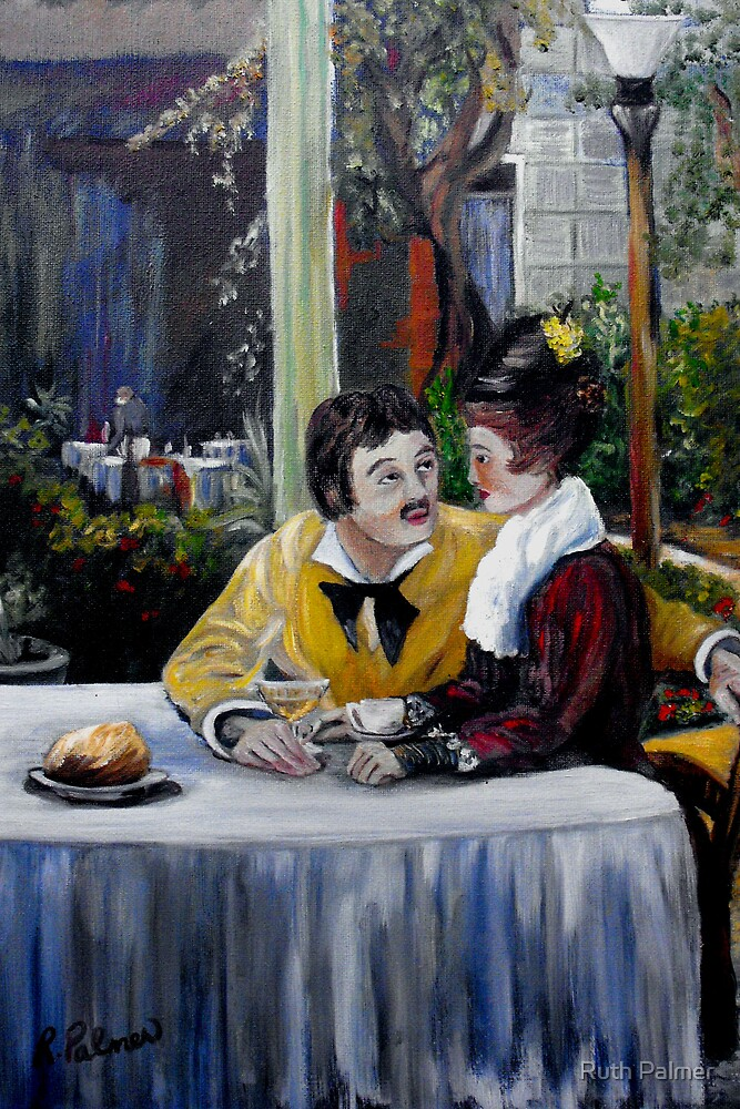 Tribute To Manet (1999) by Ruth Palmer