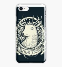 Wild Thing iPhone Case/Skin