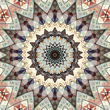 Colors of Autumn Mandala by perkinsdesigns