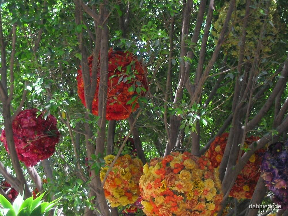 Flowers in Trees by debbiedoda