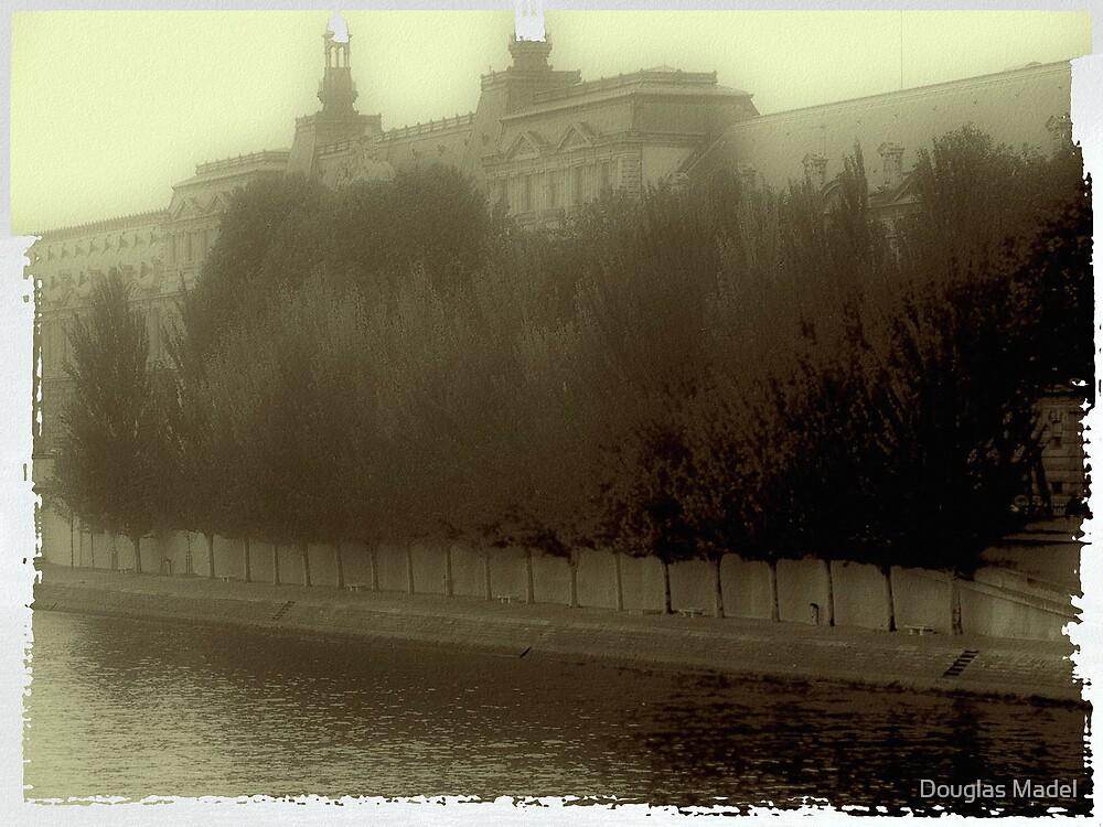 Seine Fog by Douglas Madel