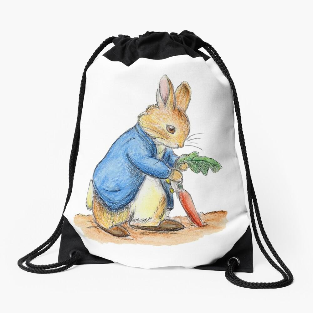 Kindergartenfiguren, Peter Rabbit, Beatrix Potter. Turnbeutel