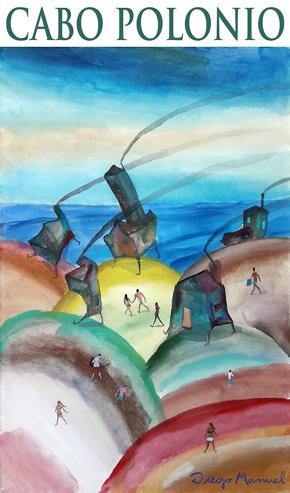 Cabo Polonio. by Diego Manuel Rodriguez