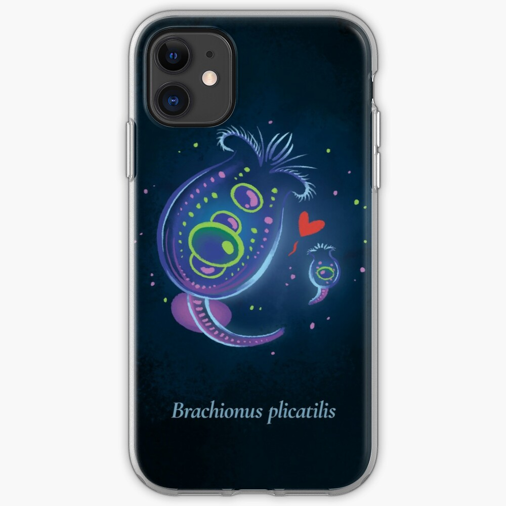 The Circles of Life: Brachionus plicatilis iPhone Case & Cover