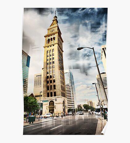Clocktower - Denver Poster