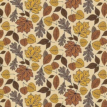 Falling Leaves Pattern by lents