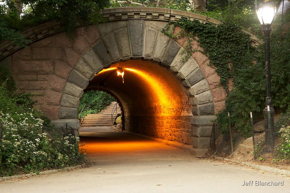 Glowing Tunnel by Jeff Blanchard