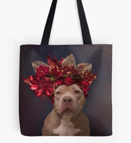 Flower Power, Willie Pep Tote Bag