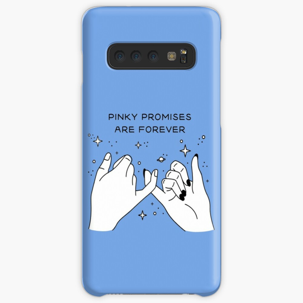 Pinky Promises are Forever Funda y vinilo para Samsung Galaxy