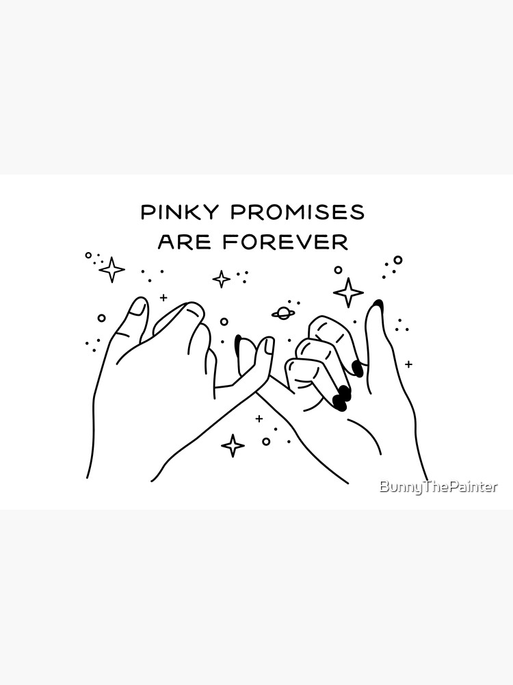 Pinky Promises are Forever de BunnyThePainter