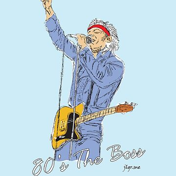 80's The Boss Original Design by jlgrcreations05