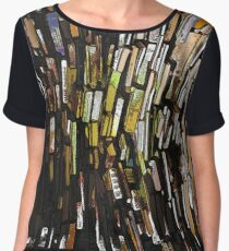 for the love of books  Chiffon Top